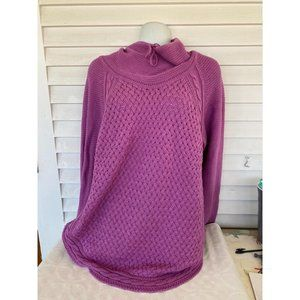 AS IS unbranded sz L/XL knitted poncho